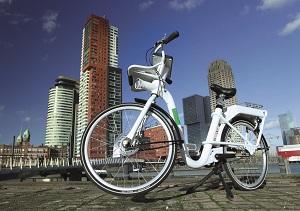 Gobike in Rotterdam