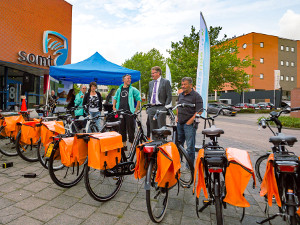 E-bike roadshow in Amersfoort