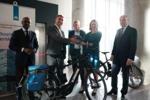 Staatssecretaris Van Veldhoven start de e-bkeproef