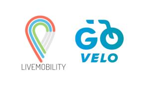 Logo's Livemobility en Go Velo